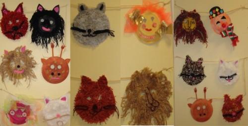 bricolage, masque, carnaval