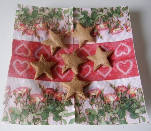 spitzbuewe,étoiles à la cannelle,ratage
