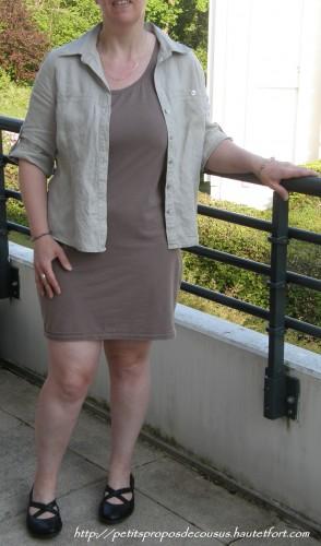 robe tee shirt,chemise lin,la redoute,patrice bréal